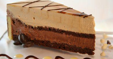 Кофейный торт с кофейно-шоколадным муссом