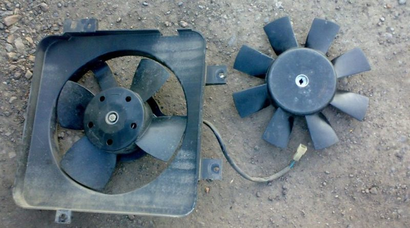 Вентилятор охлаждения: что делать, если произошел обрыв ремня привода?
