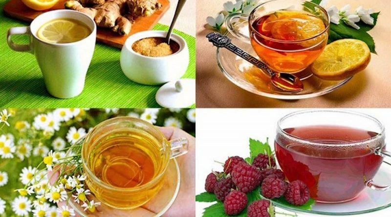10 напитков, помогающих справится с простудой