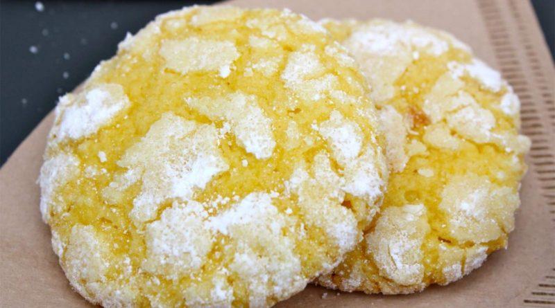 Лимонное печенье.
