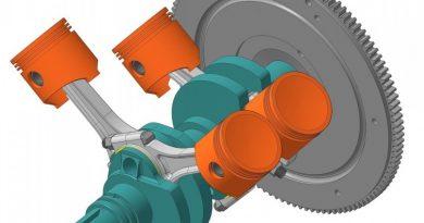 Сменный шатунный механизм двигателя