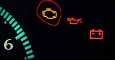 На приборной панели ВАЗ-2114 горит лампочка аккумулятора