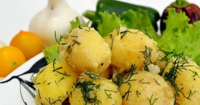 Любимая молодая картошечка