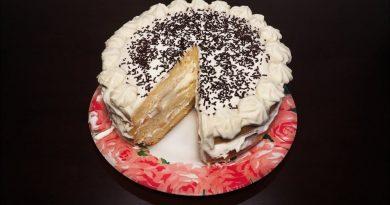 """Вкусный бисквитный торт """"Елизавета"""""""