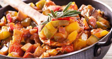 Рагу из кабачков: летнее блюдо