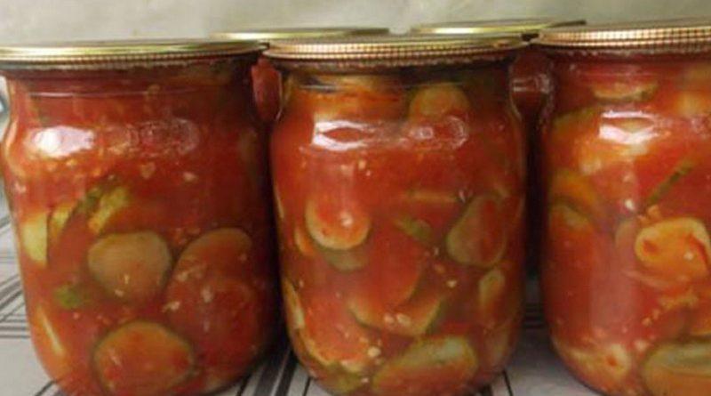 Огурцы в томате - обалденный рецепт!