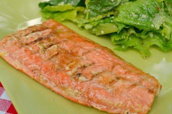 Пряный соус для лосося
