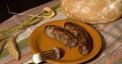 Домашние колбаски