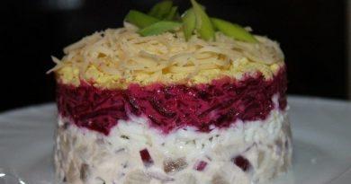 Селёдочный салат