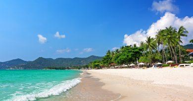 5 лучших пляжей острова Самуи