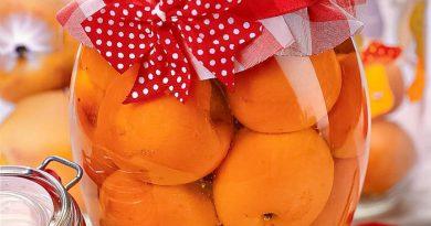 Заготовка абрикосового компота на зиму