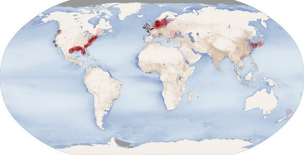 Мертвые зоны океана - последствия деятельности человека