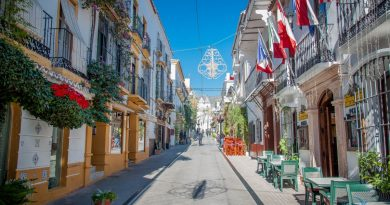 Марбелья- живописный город