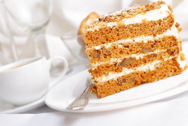 Медовый торт: классический рецепт