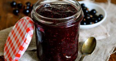 Варенье пятиминутка из черной смородины - просто и вкусно!