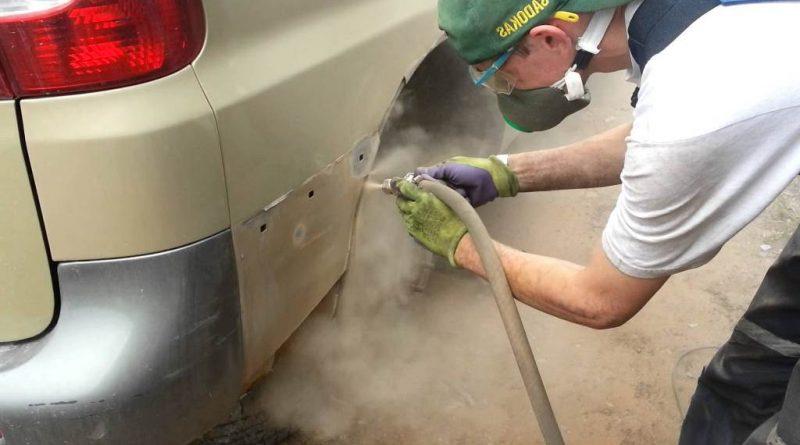 Как правильно удалить ржавчину с поверхности автомобиля