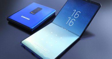 Складной смартфон от Samsung будет иметь 2 дисплея