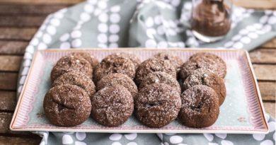 Печенье с шоколадной пастой Нутелла