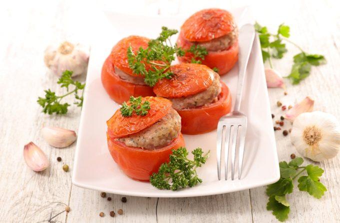 Фаршированные помидоры «Мясные шкатулки»