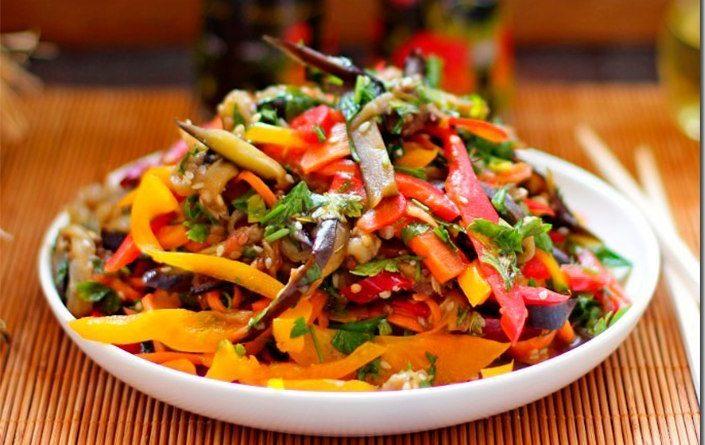 Баклажаны по-корейски: вкуснейший рецепт!