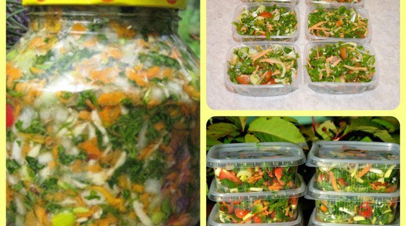Овощная смесь выручит вас зимой!