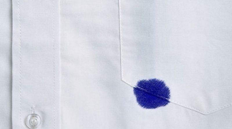 Чем вывести пятно от шариковой ручки?