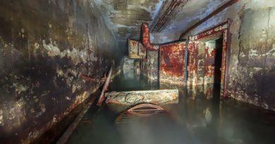 Заброшенное советское бомбоубежище