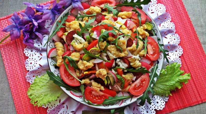 6 простых салатиков на праздничный стол