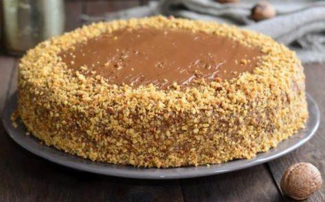 Готовим «Лакомку» вкуснейший пирог с вареной сгущенкой