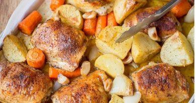 Настоящее куриное жаркое в духовке