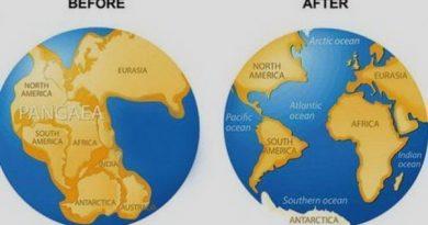 10 фактов о Пангее, древнем континенте Земли