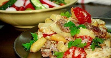 Картофель по-французски на сковороде