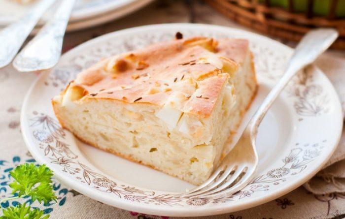 Простой рецепт капустного пирога