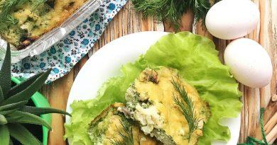 Запеканка с овощами и мясом