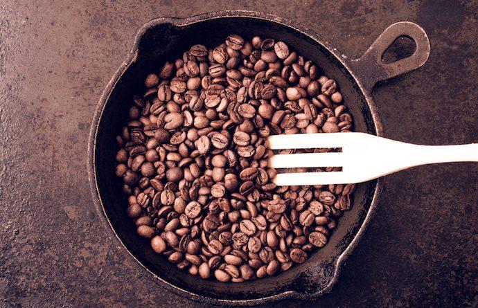 Обжарка кофе в домашних условиях