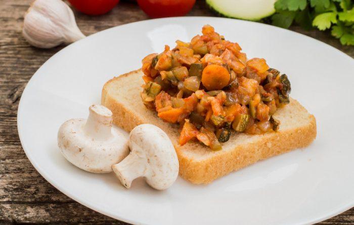Икра из овощей и грибов