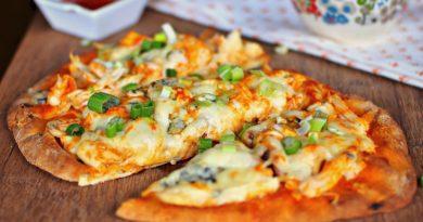 Быстрая пицца на лаваше