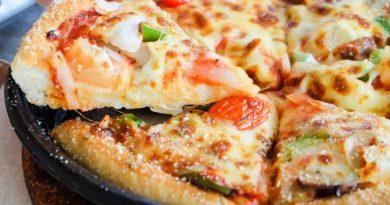 Рецепт «Сковородочной» пиццы - за 10 минут