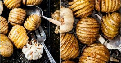 Запеченный картофель по-шведски
