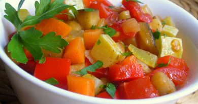 Классическое рагу из овощей