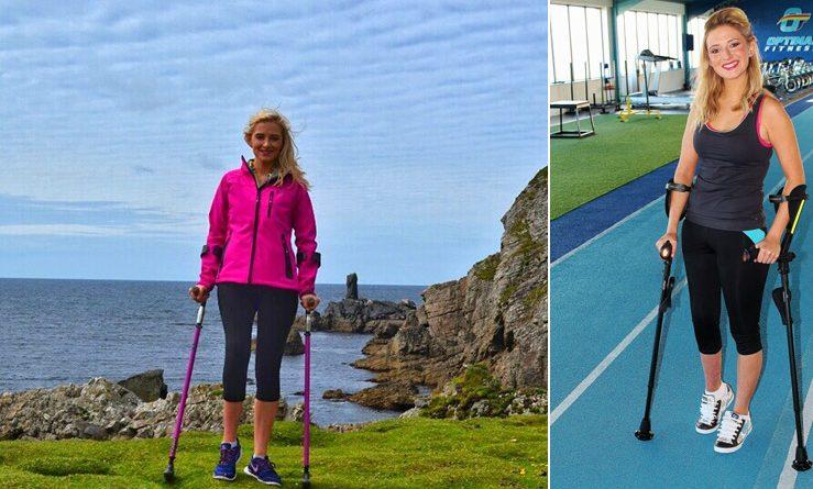 Британка борется с раком костей альпинизмом