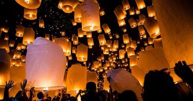 В Таиланде будут штрафовать за несанкционированный запуск фонариков и фейерверков