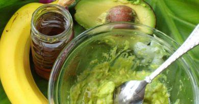 Маска с авокадо для жирной кожи