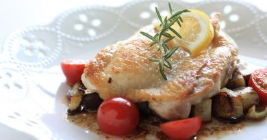 Мясо по-французски с куриным филе