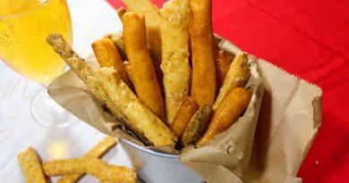 Сырные палочки с 3 вкусами