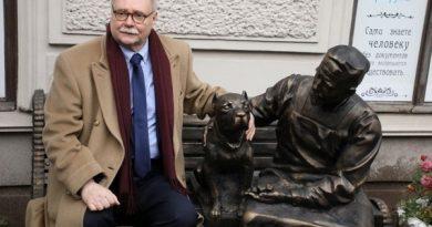 Памятник персонажам фильма «Собачье сердце»