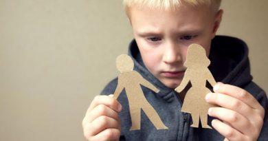 Как уберечь ребенка от травмы после развода
