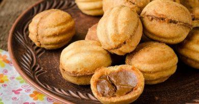 Как приготовить печенье со сгущенкой