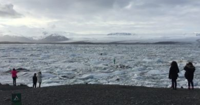 В Исландии турист рискнул жизнью ради удачного селфи