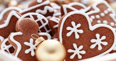 Рецепт классического имбирного печенья и глазури к нему